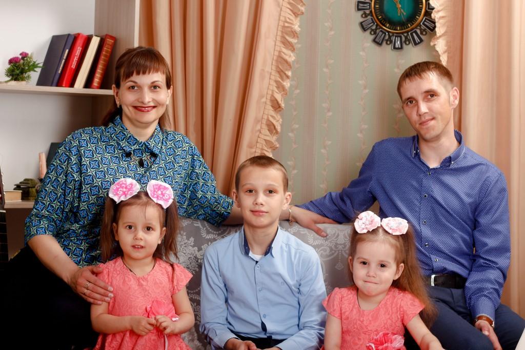 Семья Волковых