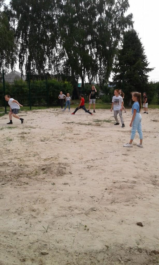 Открытие летней смены и волейбольной площадки
