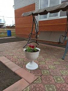Акция «Облагораживание территории перед окнами ветерана с высадкой растений»