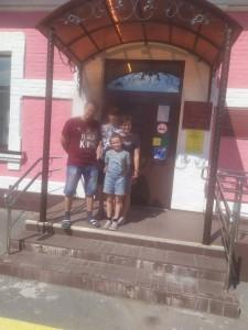 Заводоуковский краеведческий музей распахнул свои двери для детей и родителей клуба «Надежда».